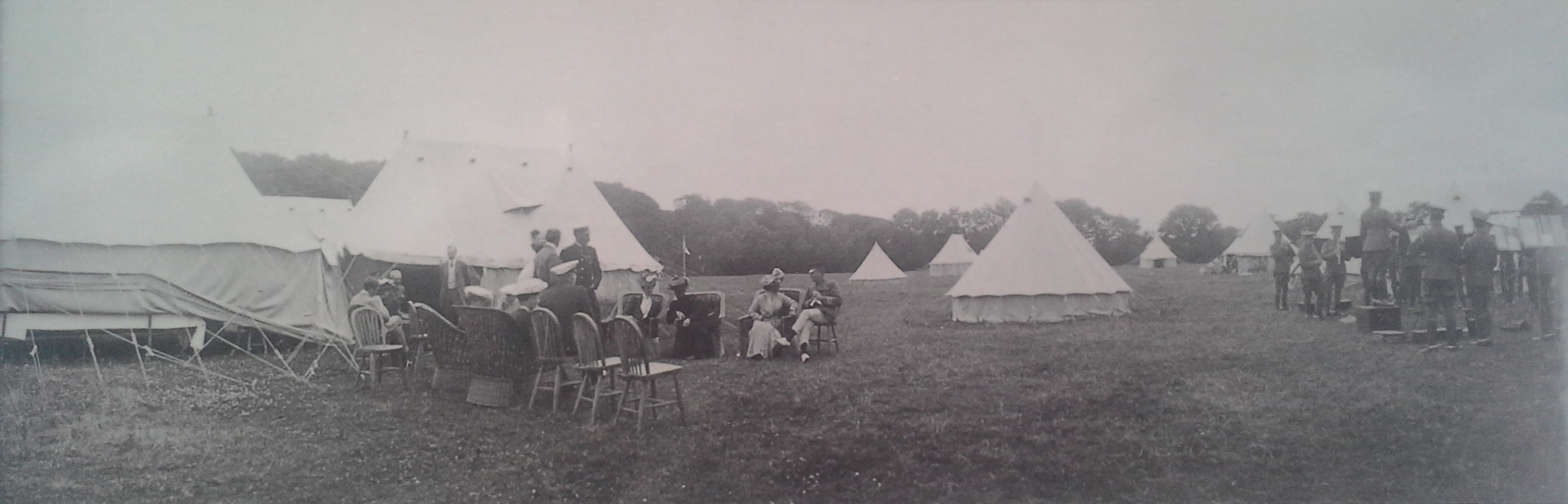 1906 Cavalry Entertainment Bannow, Bannow Historical Society Wexford