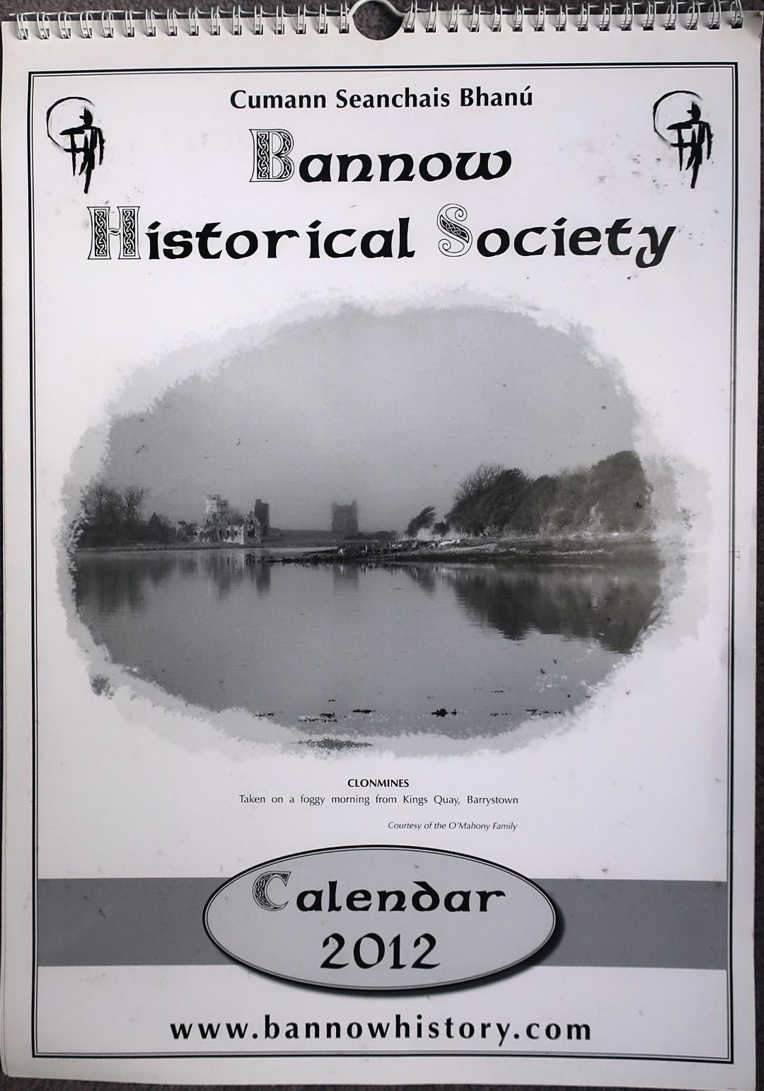 Bannow Historical Society Calendar 2012