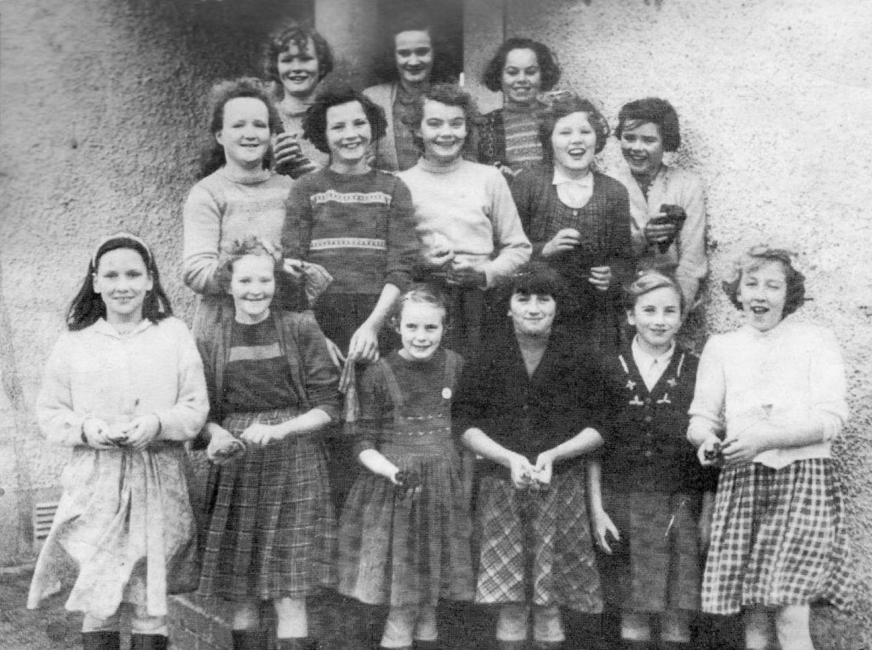 Ballymitty School Girls 1960, Bannow Historical Society Wexford Calendar 2013