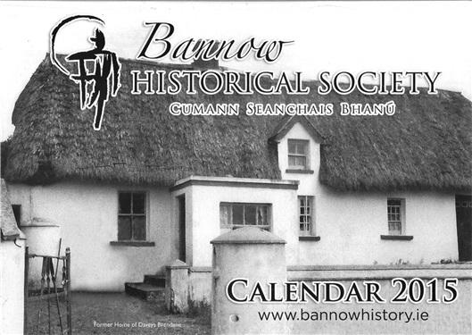 Bannow Historical Society 2015 Calendar