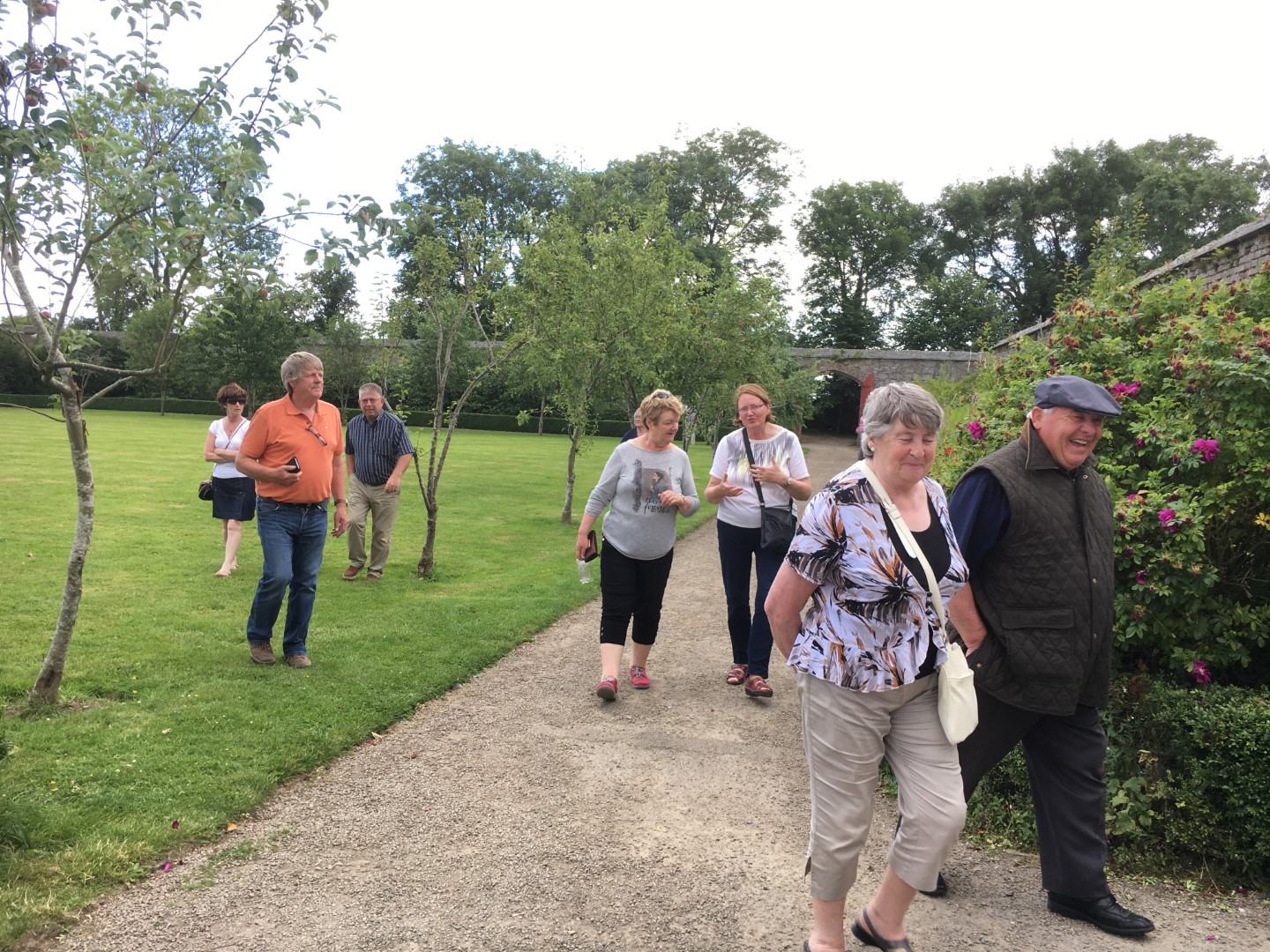 Bannow Historical Society Annual Duckets Grove Carlow Tour 2016 15