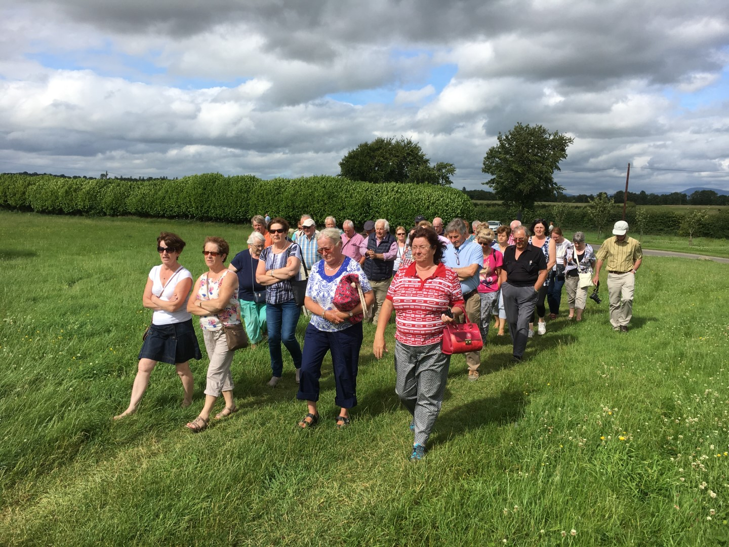 Bannow Historical Society Annual Duckets Grove Carlow Tour 2017 4
