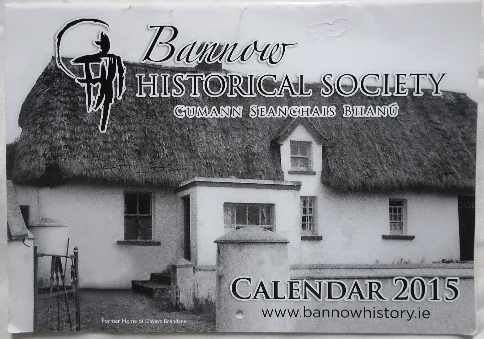 Bannow Historical Society Wexford Calendar 2015 12