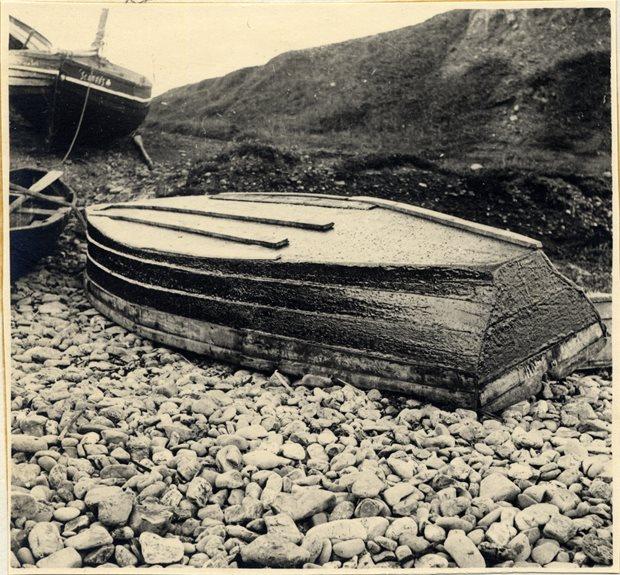 Bannow bay boats on beach, Bannow Historical Society