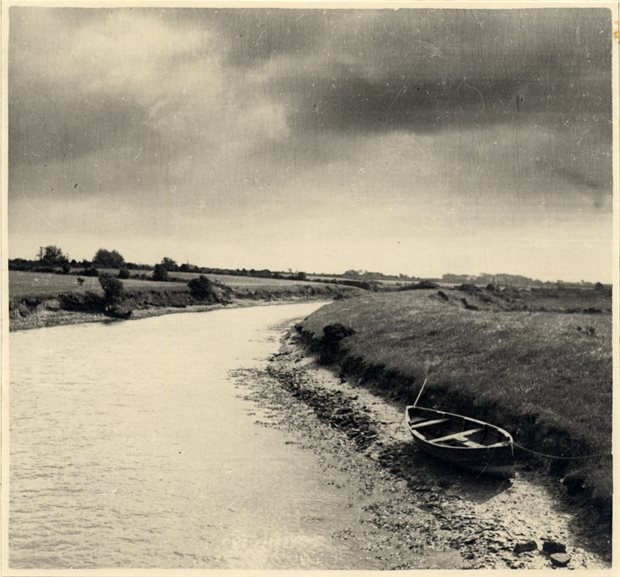 Boat on canal DCK, Bannow Historical Society