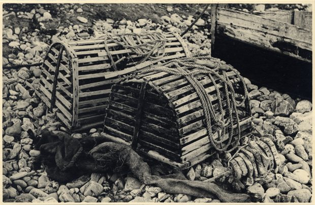 Lobster pots, Bannow Historical Society