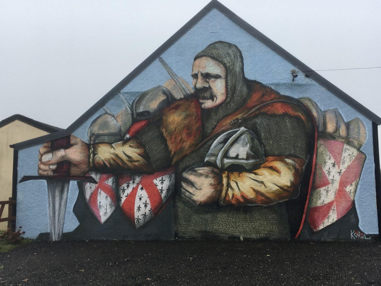Mural, Parish Hall Carrig 2021