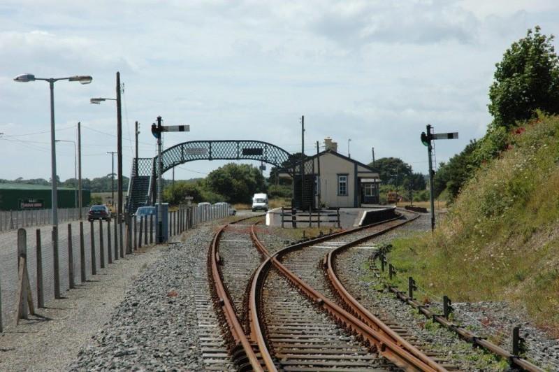 Photographs Supplied and Copyright Of Ernie Shepherd - Wellingtonbridge Railway Station, Wexford 3