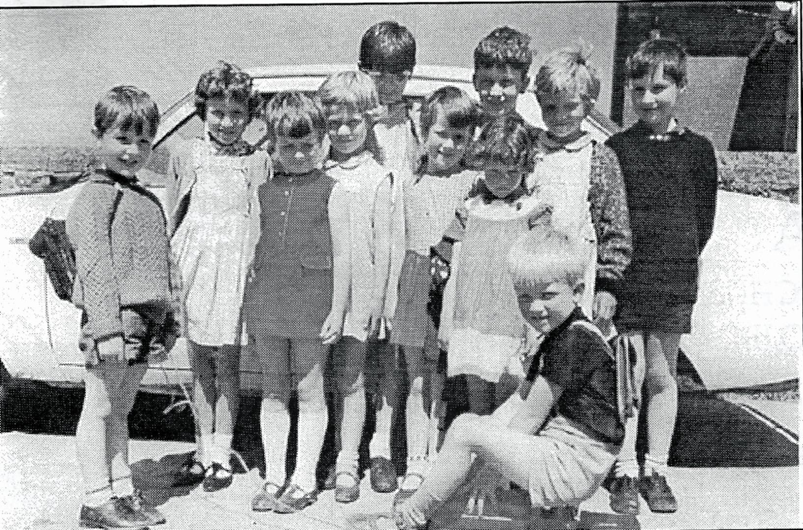 Tullacanna kids 1969, Bannow Historical Society Wexford Calendar 2013