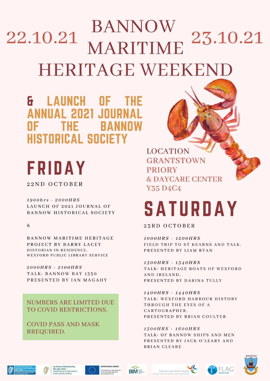 Bannow Maritime Heritage Weekend